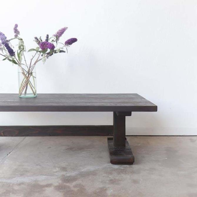 Reclaimed Wood Monastery Coffee Table