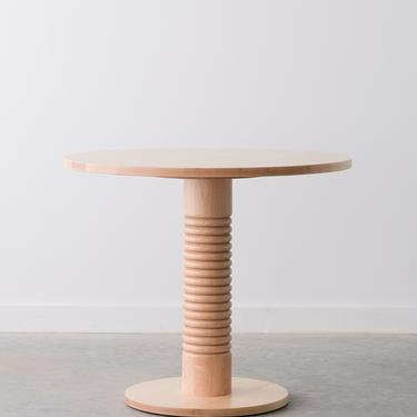 Marin Pedestal Table - Solid Wood - Available in other woods by HedgeHouse