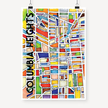 Columbia Heights Print