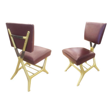 Giulio Minoletti and Gio Ponti Chairs- Six Available