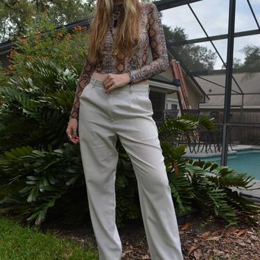 Vintage trousers / vintage oversized trousers / vintage mens trousers / vintage unisex trousers / vintage neutral trousers / vintage pants by memoryjunkievintage