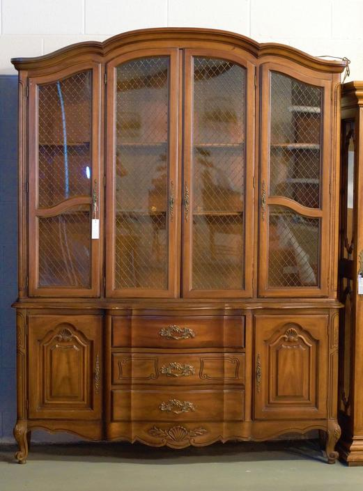 CUSTOMIZABLE - Display Cabinet or China Hutch by UniquebyRuth