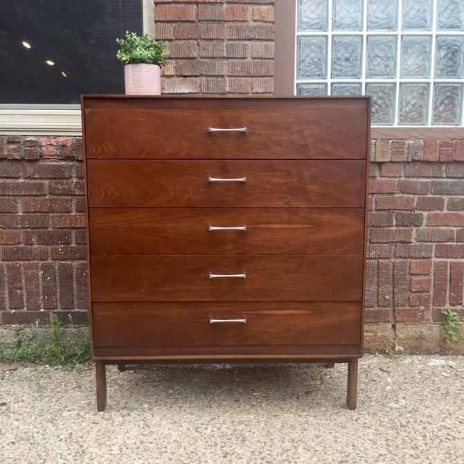 Mid-Century Tallboy Dresser by Lane