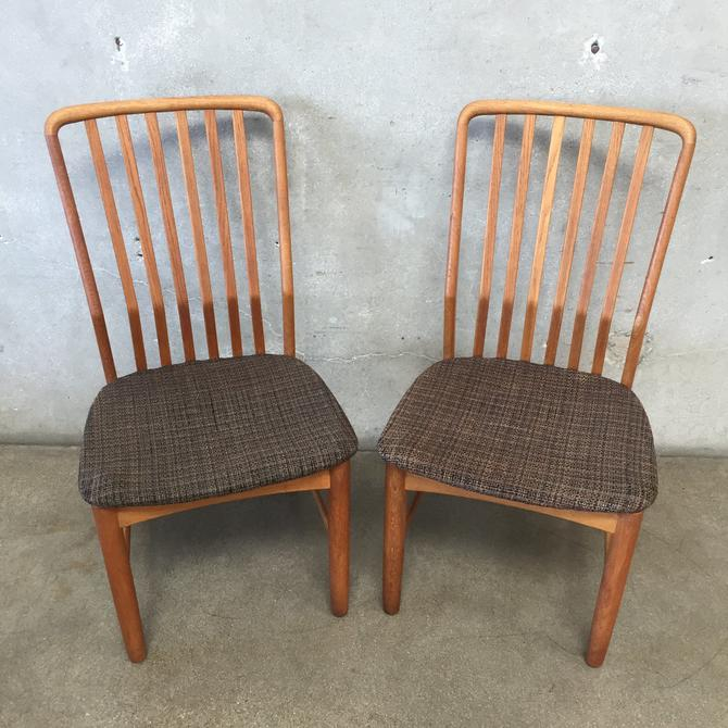 Mid Century Danish Chairs by Svend Madsen for Moreddi - Pair
