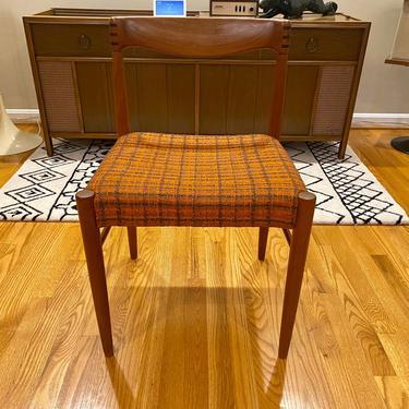 H. W. Klein Side Chair For Bramin Midcentury Modern 60's MCM by MSGEngineering