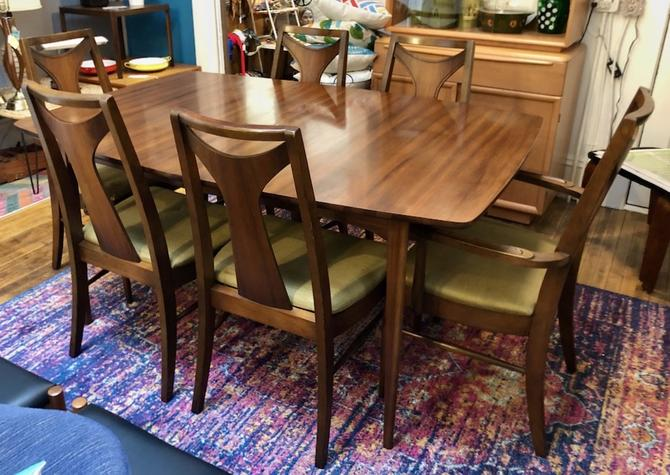 Set of 6 Kent Coffey Perspecta Dining Chairs