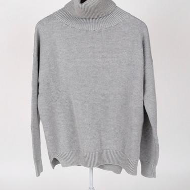 Carolyn Turtleneck Sweater - Grey Organic
