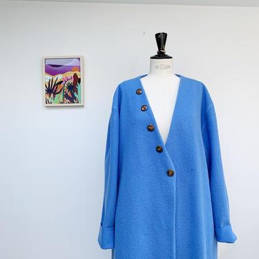 Blue Woo coat by shopjoolee
