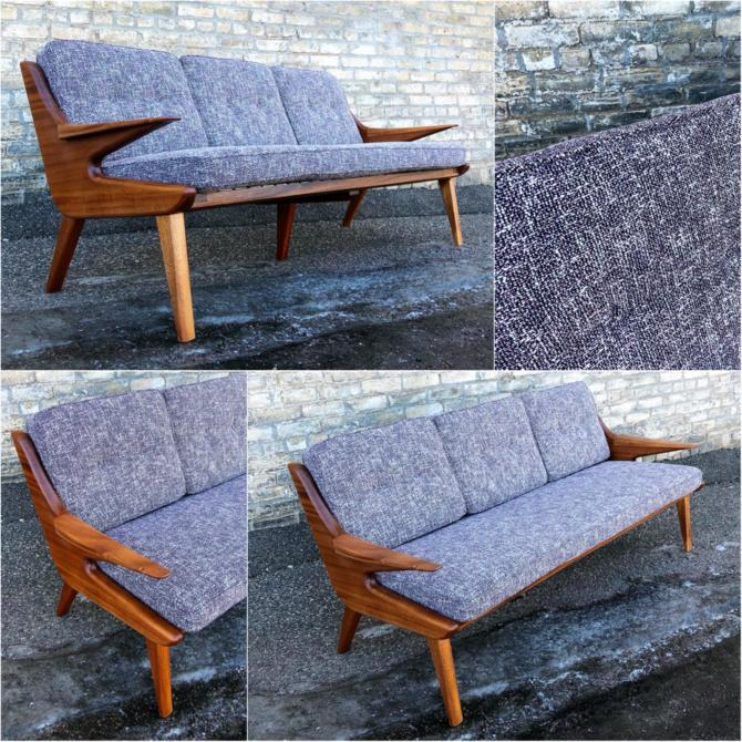 Modernist Sofa Handcrafted In Minnesota