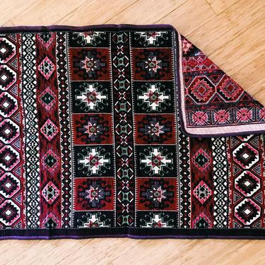 Red woven Persian Kilim  (Free shipping to USA) by KaashiFurniture