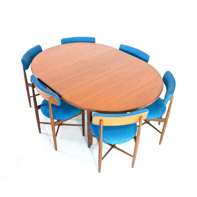Mid Century Dining Table & 6 Chairs by VB Wilkins for G Plan by SputnikFurnitureLLC