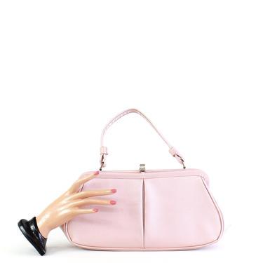 1960s Pink Faux Snakeskin Purse - 1960s Pink Handbag - Vintage Pink Purse - 1960s Pink Purse - Pink Vintage Purse - 1960s Pink Bag by VeraciousVintageCo