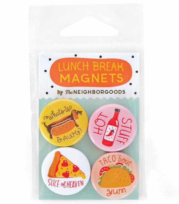 Lunch Break Mini Magnet Set