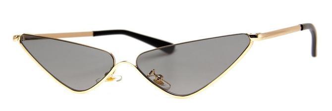 Gold Flytrap Sunglasses