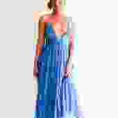 Ba&Sh Printed Midi Dress, Size S
