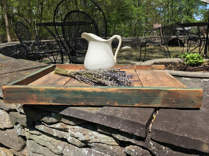 Vintage French Country Tray/Cutting Board