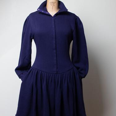 1980s Sweatshirt Dress | Norma Kamali by FemaleHysteria