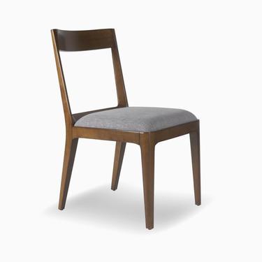 Walnut Mid Century Dining Chair, Walnut Upholstered Chair, Walnut Dining Chair 2  - Bella Collection - Ekais by Ekais