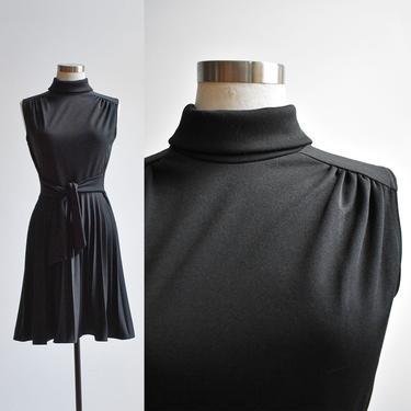Vintage Black Cocktail Dress by milkandice