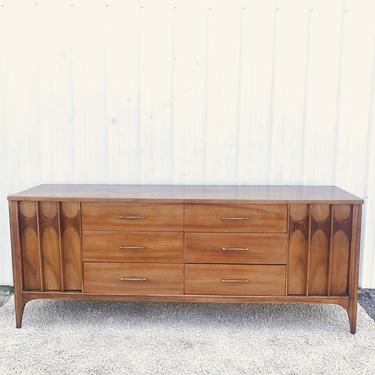 Mid Century 12 Drawer Dresser by Kent Coffey