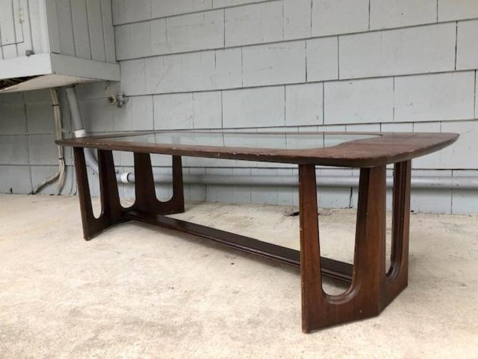 Midcentury Brasilia Style Coffee Table