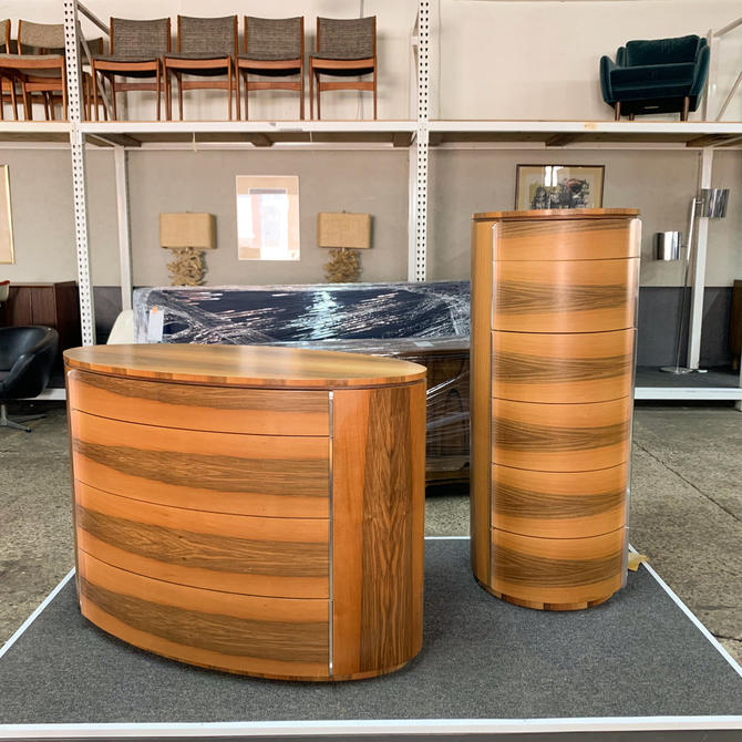 Contemporary bentwood dressers