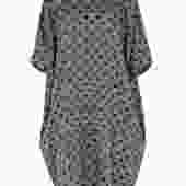 YMC BLACK WHITE MARY DRESS