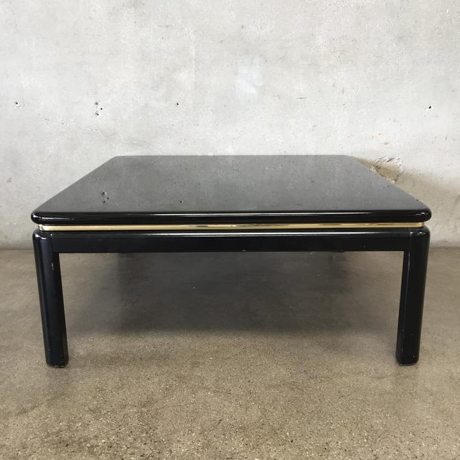 Vintage Lane Lacquered Coffee Table