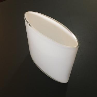 A Vintage Mid Century Modern Alvar Alto Glass Vase for Littala  Finland by modern2120