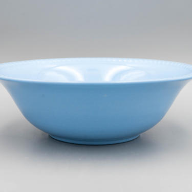Homer Laughlin Kraft Blue Round Serving Bowl | Vintage Baby Blue Vegetable Bowl | Mid Century Serveware by MostlyMidCenturySF