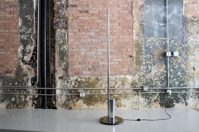 Linea Floor Lamp by Nanda Vigo for Arredoluce Italy