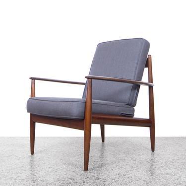 Grete Jalk Model 118 Easy Chair by France and Daverkosen by JefferyStuart