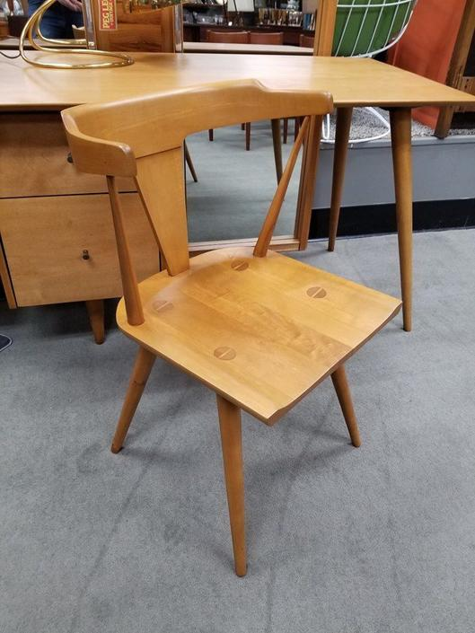 Mid-Century Modern maple chair by Paul McCobb