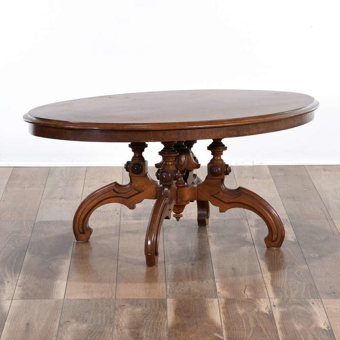 Carved Victorian Coffee Table