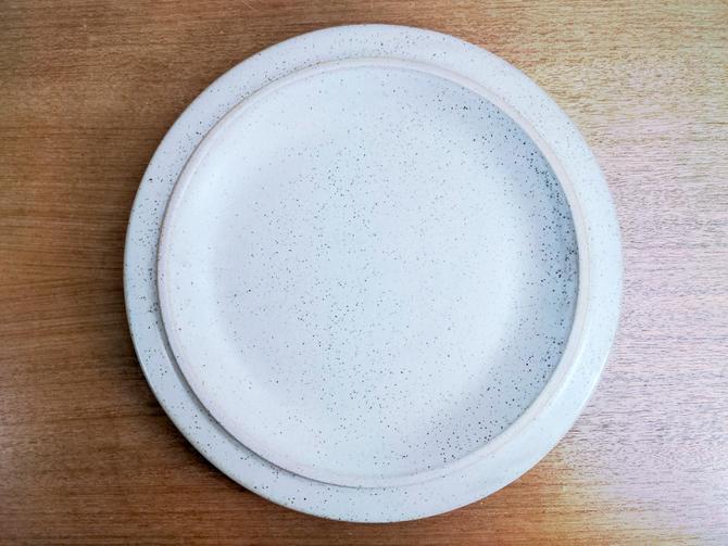 Vintage Fabrik Dark Speckled Ptarmigan | Dinner Plate | Jim McBride | Seattle Pottery by TheFeatheredCurator