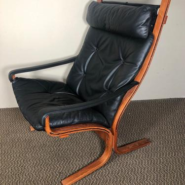 Ingmar Relling Siesta Chair By Westnofa Norway High Back With Arms 25th Jubilee Model by RetroPassion21