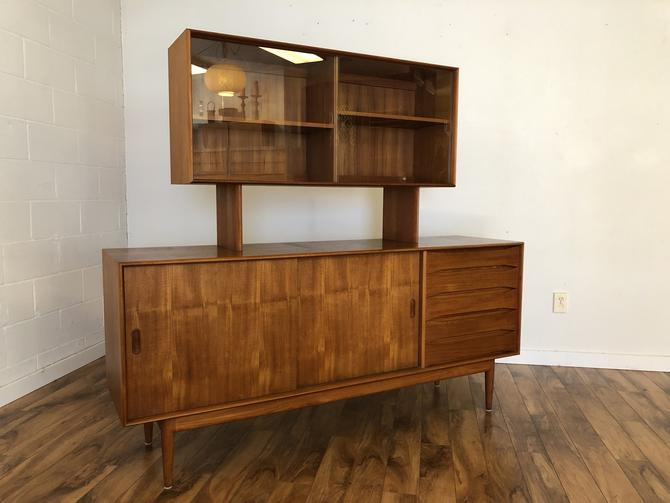 Johannes Aasbjerg Solid Teak Sideboard & Display