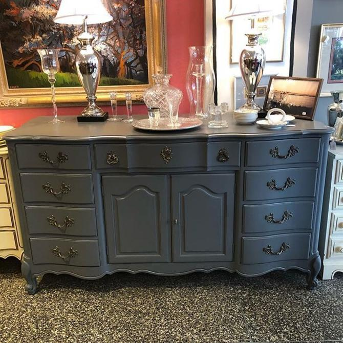 Grey French Provincial Buffet! $595!