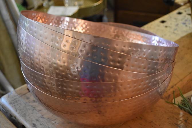 Copper-Finish Bowl