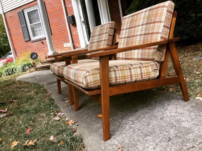 Pair of Midcentury Danish Modern Lounge Chairs