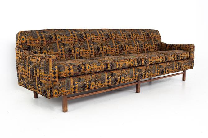 Jack Lenor Larsen Style Mid Century Sofa - mcm by ModernHill