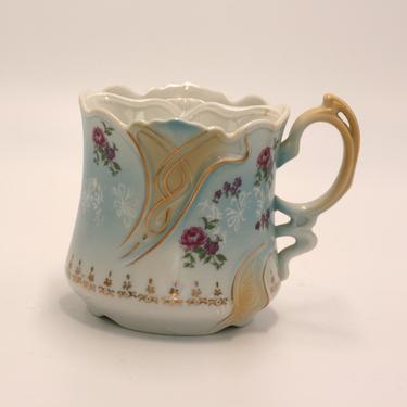 vintage shaving mug/scuttle mug by suesuegonzalas