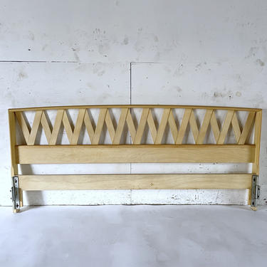 Mid-Century King Headboard by Paul Frankl by secondhandstory