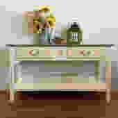 Ethan Allen Console Table
