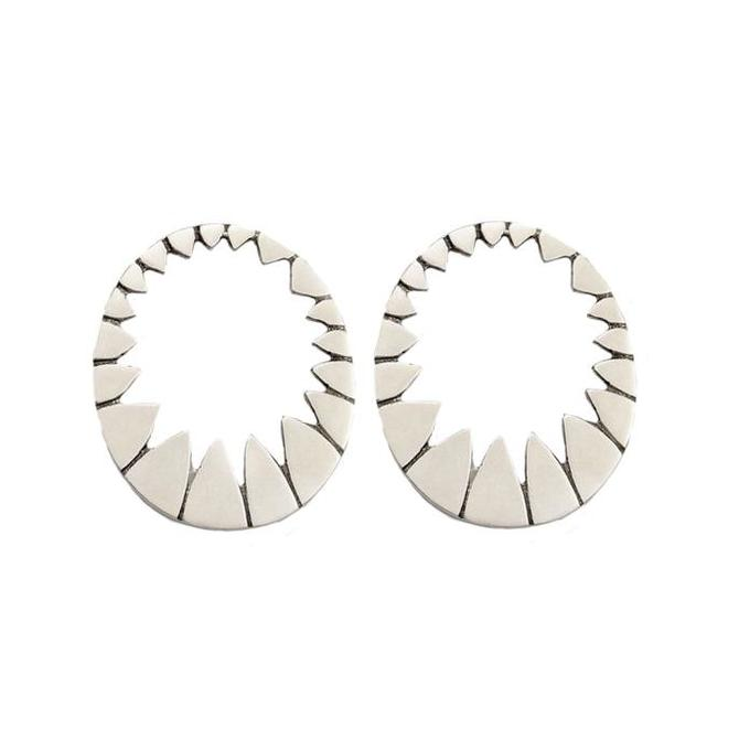 Medium Stella Earrings - Silver