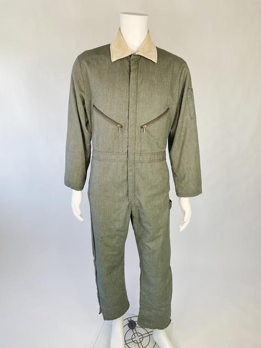 1960's Quilted Speed Suit