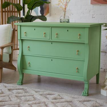 1940's Seafoam Chest of Drawers