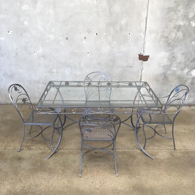 1950's Iron patio Set by Salterini