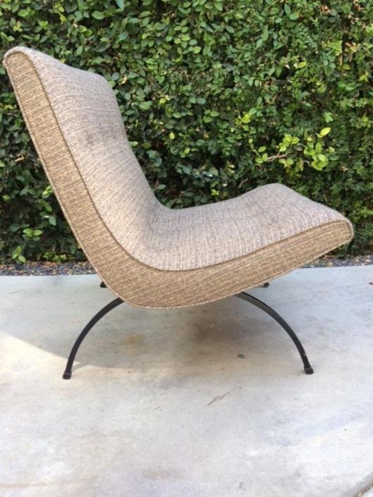 Milo Baughman Scoop Chair