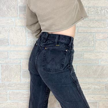 Wrangler Faded Black Western Jeans / Size 28 by NoteworthyGarments